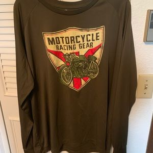 Other - Men's long sleeve motorcycle shirt
